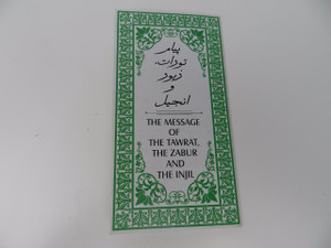 Dari Language The Message of the Tawrat, the Zabur and the Injil