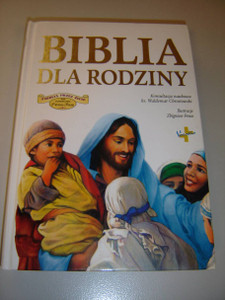 Polish Language Family Bible with Beautiful Illustrations / Biblia dla Rodziny