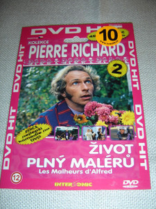 Les Malheurs d'Alfred / The Troubles of Alfred / Zivot Plny Maleru (1972) / Pierre Richard Collection 2 / French and Czech Sound Options / Czech Subtitles [European DVD Region 2 PAL]