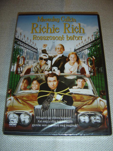 Richie Rich: Rossycsont beforr / ENGLISH and Hungarian Sound Options / Hungarian Subtitles [European DVD Region 2 PAL]