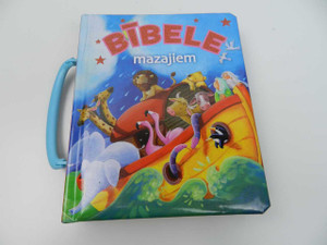 Latvian Children Bible: The Carry Along Bible / Bibele mazajiem