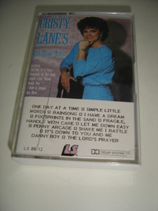 Christy Lane - Greatest Hits / Rare Cassette