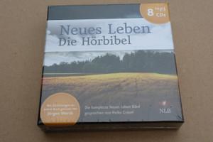 German Audio Bible on 8 Mp3 Cds / NLB Version / Neues Leben - Die Hörbibel - Mp3 Format / Die komplette Neues Leben Bibel gesprochen von Heiko Grauel (Bibletext) und Jurgen Werth (Einleitungen)