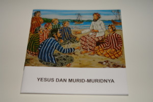 Indonesian – English Bilingual Children's Bible Story Booklet / Yesus Dan Murid – Muridnya - Jesus and His Disciples by the Sea