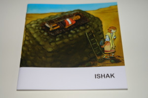Indonesian – English Bilingual Children's Bible Story Booklet / Ishak - Isaac
