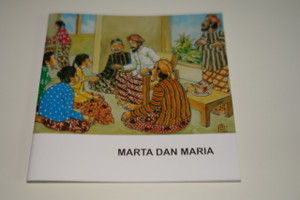 Indonesian – English Bilingual Children's Bible Story Booklet / Marta Dan Maria – Martha and Mary