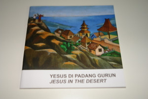 Indonesian – English Bilingual Children's Bible Story Booklet / Yesus di padang gurun -Jesus Tempted in the Desert