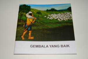 Indonesian – English Bilingual Children's Bible Story Booklet / Gembala yang baik – The parable of the lost Sheep