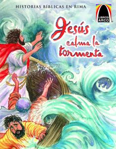 Jesus Calma La Tormenta (Jesus Calms the Storm) (Spanish Arch Books) (Spanish Edition) Paperback Jean Thor Cook