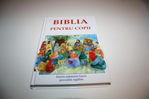 BIBLIA PENTRU COPII / Romanian Children's Bible Full Color Old and New