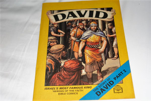The Story of King David II / United Bible Society Comics / Israel's Most Famous King / Heroes of the Faith Bible Comics Series For Children / Full Color