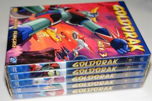 Goldorak Box.3 Episodes 53 - 74 FRENCH ONLY Audio Version Française / UFO Robot Grendizer (UFOロボ グレンダイザー Yūfō Robo Gurendaizā) / Force Five: Grandizer / Japanese Super Robot anime television series / Shōnen manga