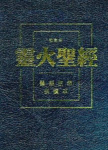 Chinese Fire Bible AKA Full Life Study Bible / Chinese Union Version Text / CUV / Traditional Chinese Characters / Bonded Leather, Black, Zipper, Gold Lettering on Cover (9780736103510)