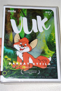 Vuk The Little Fox DVD based on the novel by István Fekete / Directed by Attila Dargay and written by Attila Dargay, István Imre, Ede Tarbay, and Magyar Televízió / AUDIO: Hungarian / Subtitle: English / Runtime 74 Minutes / Bonus Footage (5999887816017)