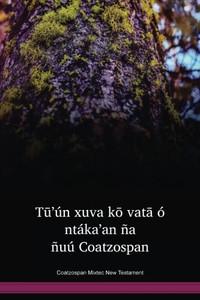 Coatzospan Mixtec Language New Testament / Tū'ún xuva kō vatā ó ntáka'an ña ñuú Coatzospan (MIZNT) / Coatzospan Mixtec 2003 Edition / Mexico