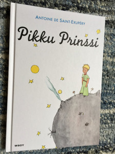 Pikku Prinssi / The Little Prince in Finnish Language / Antoine de Saint-Exupery / Finnish Children's Book / Finland