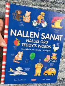 Nallen Sanat Nalles Ord / Teddy's Words Trilingual Swedish, Finnish and English Dictionary for Kids / English