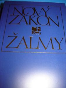 Large Print Czech New Testament / Novy Zakon - Zalmy / Cesky ekumenicky