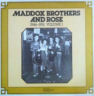 MADDOX BROS. AND ROSE VOL. 1: 1946-1951