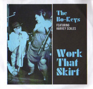 THE BO-KEYS FEATURING HARVEY SCALES - WORK THAT SKIRT