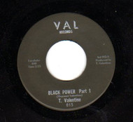 T. VALENTINE - BLACK POWER