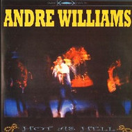 ANDRE WILLIAMS - HOT AS HELL (LP)
