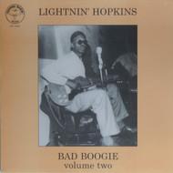 LIGHTNIN' HOPKINS VOL. 2: BAD BOOGIE