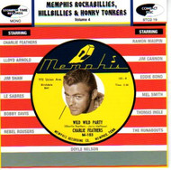 MEMPHIS ROCKABILLIES, HILLBILLIES AND HONKY TONKERS VOL. 4 (CD)
