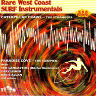RARE WEST COAST SURF INSTRUMENTALS (CD)