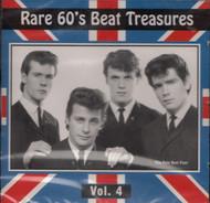RARE 60's BEAT TREASURES VOL. 4 (CD)