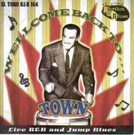 WELCOME BACK TO TOWN (CD)