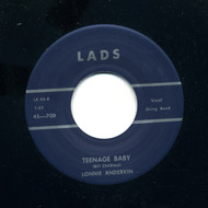 LONNIE ANDERKIN - TEENAGE BABY