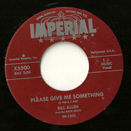 BILL ALLEN - PLEASE GIVE ME SOMETHING