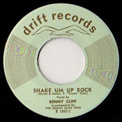 BENNY CLIFF - SHAKE EM UP ROCK