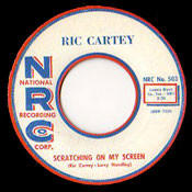 RICK CARTEY - SCRATCHIN' ON MY SCREEN