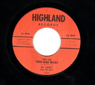 AL CASEY - TEEN-AGE BLUES