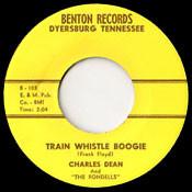CHARLES DEAN - TRAIN WHISTLE BOOGIE