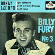 BILLY FURY - NO. 3 EP