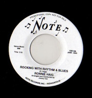 RONNIE HAIG - ROCKIN' WITH RHYTHM AND BLUES