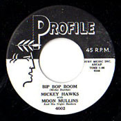 MICKEY HAWKS - BIP BOP BOOM/ROCK AND ROLL RHYTHM