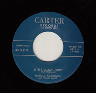 HAROLD McKINNON - LITTLE JUMP JOINT