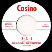 ROCKIN' CONTINENTALS - THE 309 / 2-3-4