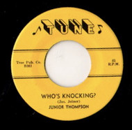 JUNIOR THOMPSON - WHO'S KNOCKIN'