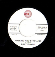 BILLY WAYNE - WALKING AND STROLLING