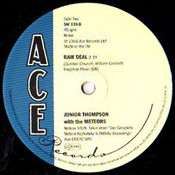 JUNIOR THOMPSON - RAW DEAL/MAMA'S LITTLE BABY