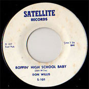 DON WILLIS - BOPPIN' HIGH SCHOOL BABY