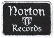BLACK NORTON IRON-ON PATCH