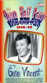 TOWN HALL PARTY TV SHOW STARRING GENE VINCENT! (VHS)