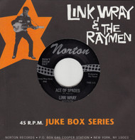 802 LINK WRAY & THE WRAYMEN - ACE OF SPADES / FAT BACK (802)