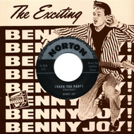 870 BENNY JOY - CRASH THE PARTY / ROLLIN' TO THE JUKEBOX ROCK (870)